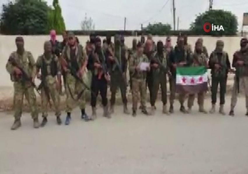 Suriye Milli Ordusu'ndan 'Resulayn Tümeni'