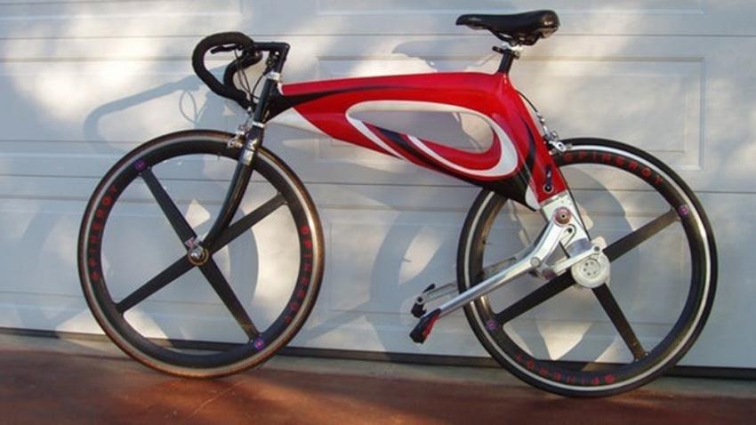 Bu da zincirsiz bisiklet