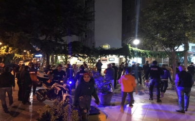 Motosiklet park tartışması kavgaya dönüştü