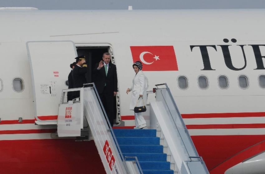 Cumhurbaşkanı Ankara'ya gitti