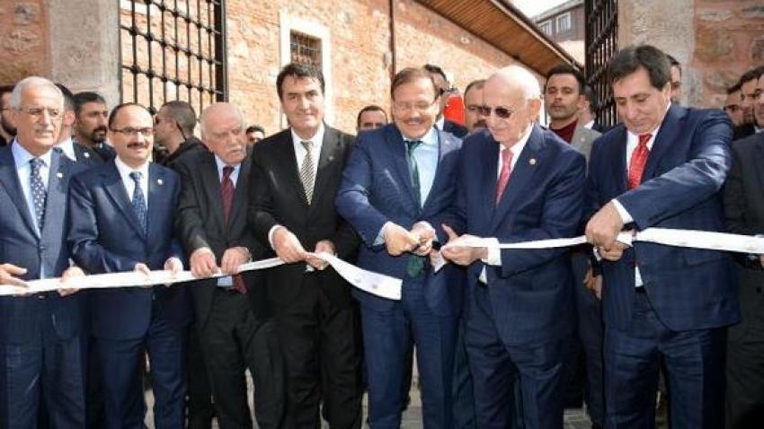 Bursa'da 1. Murad Hüdavendigar Külliyesi ile Birlik Vakfı açıldı