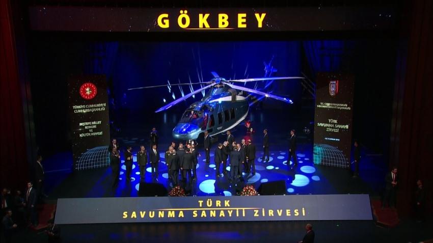 Yeni helikopterin adı: Gökbey