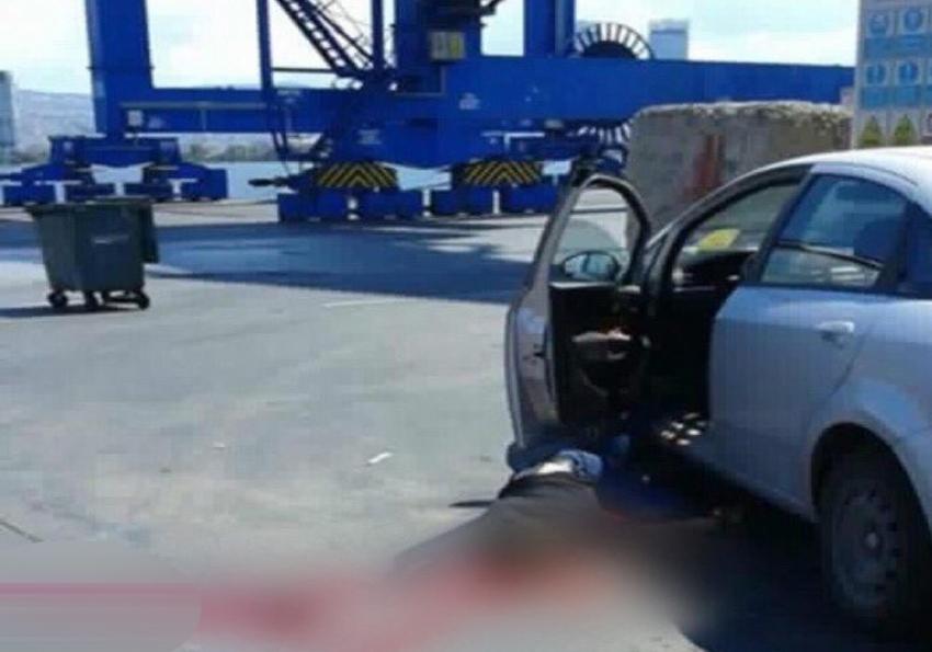 İzmir Limanında korkunç ölüm