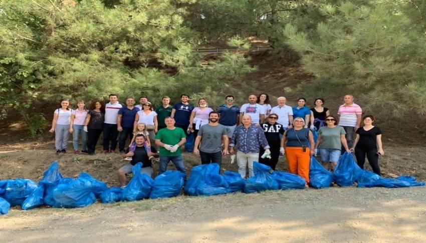 Bursa'da çöp toplama seferberliği