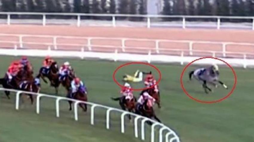 Adana'da 4 jokey daha attan düştü