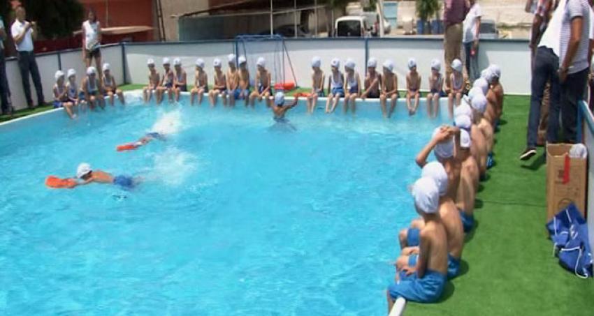 Boğulmalara 'portatif havuzlu' çözüm