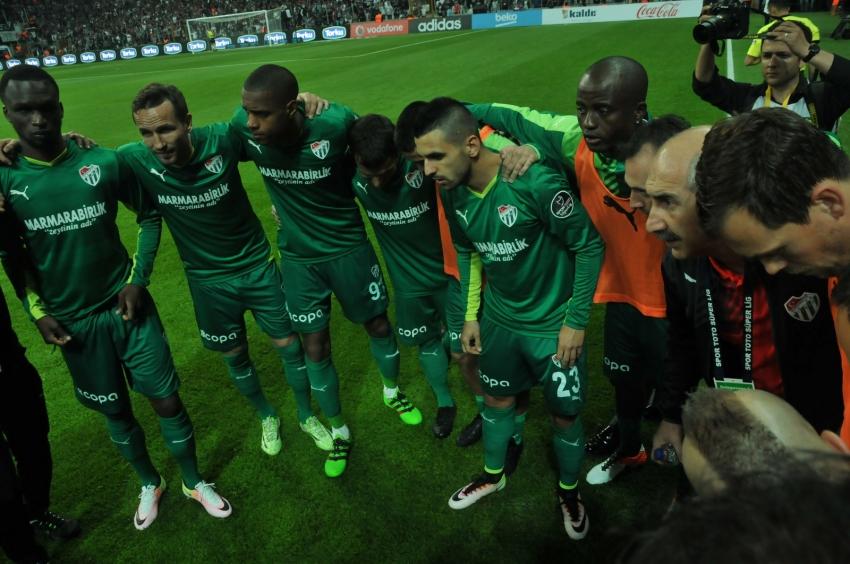Beşiktaş - Bursaspor maçından kareler
