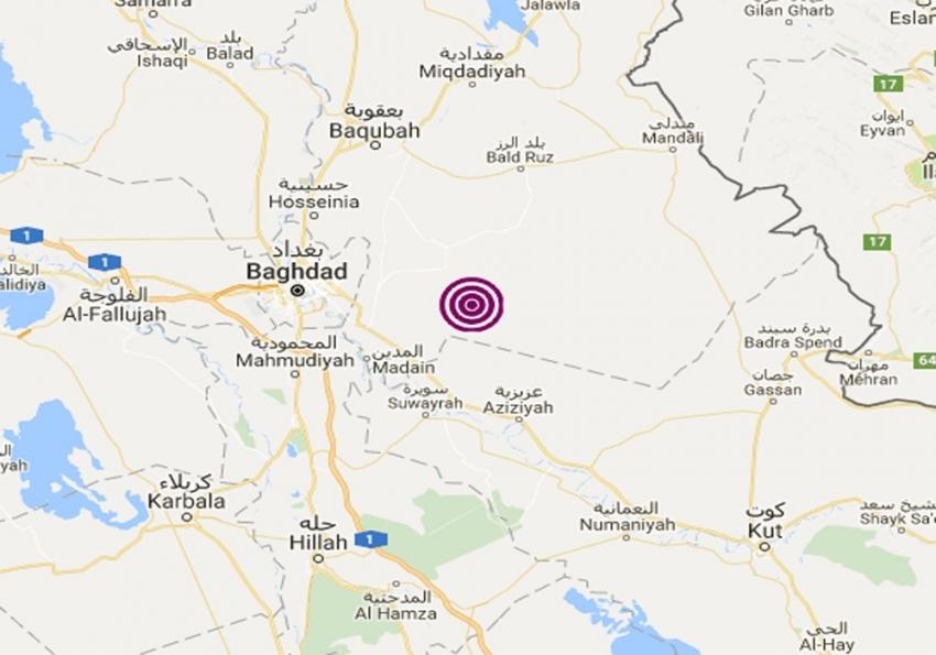 Irak'ta 5.4 büyüklüğünde deprem