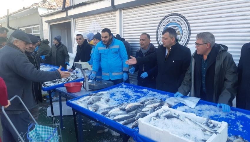 Balık tanzim satış noktası