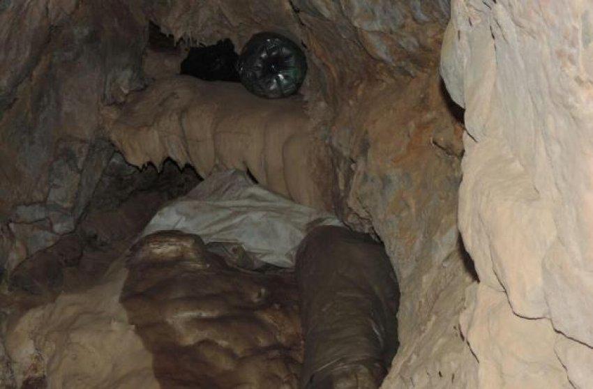 Mağarada mühimmat ele geçirildi