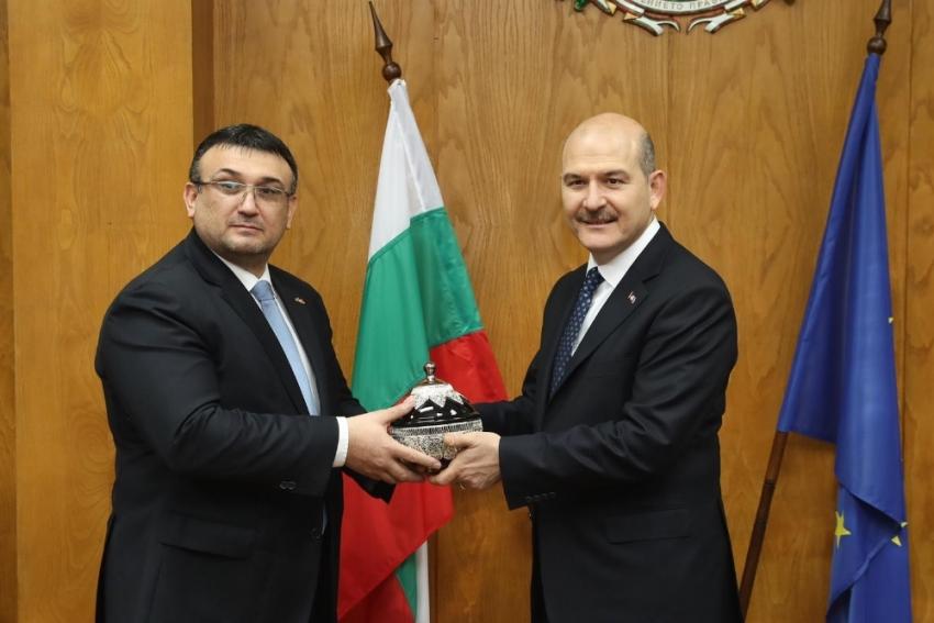 Bakan Soylu, Bulgar mevkidaşıyla görüştü