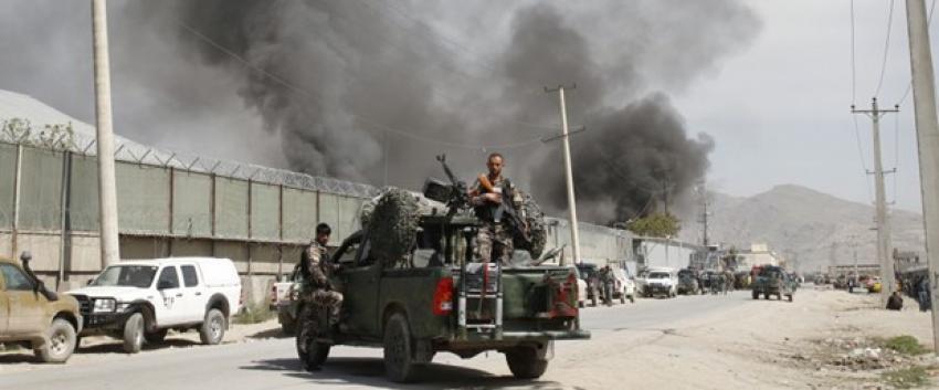 Afganistan'da yabancıların kaldığı otele silahlı saldırı