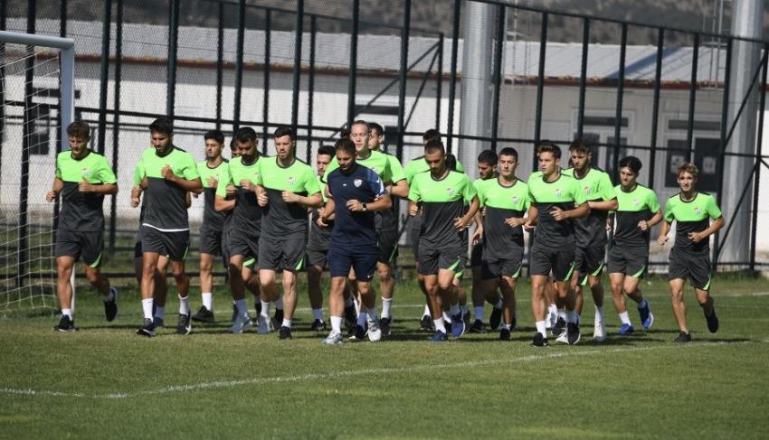 Bursaspor'un Bolu Kampı başladı