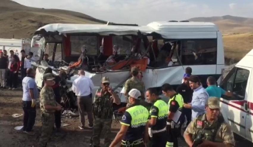 Ağrı'da katliam gibi kaza: 7 ölü