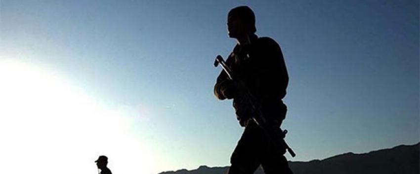 Ağrı'da çatışma: 1 asker yaralı