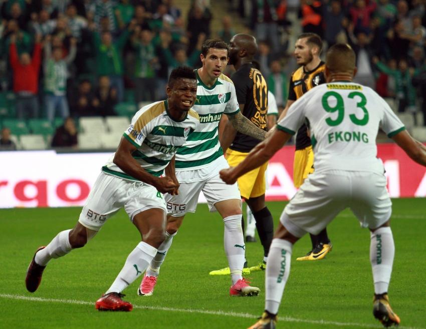 Bursaspor 3-1 Osmanlıspor