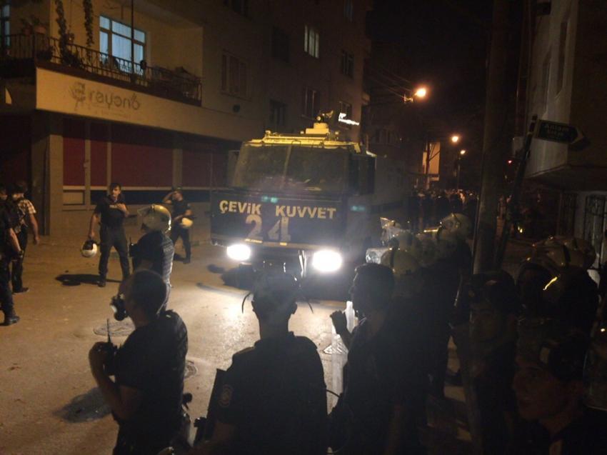 Bursa sokakları yine karıştı