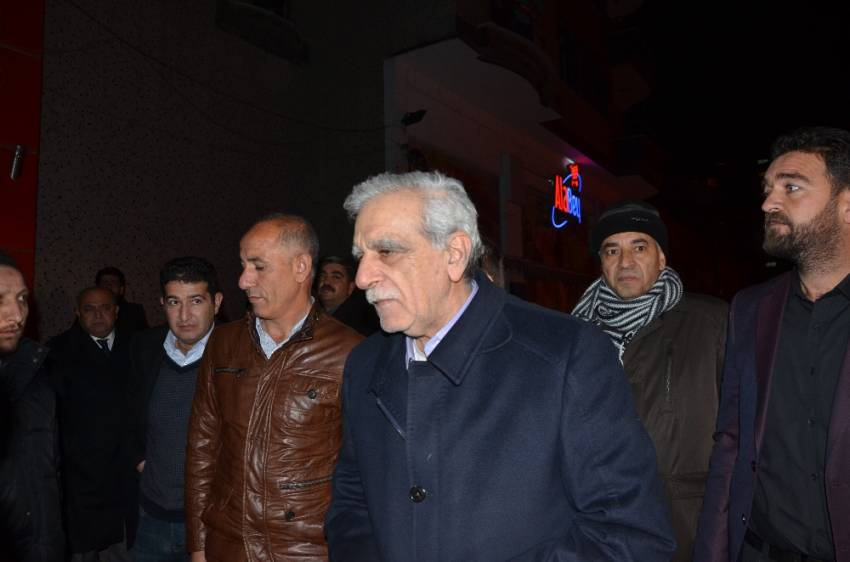 Ahmet Türk Mardin'de