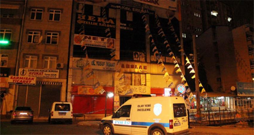 AK Parti binasında şüpheli paket paniği