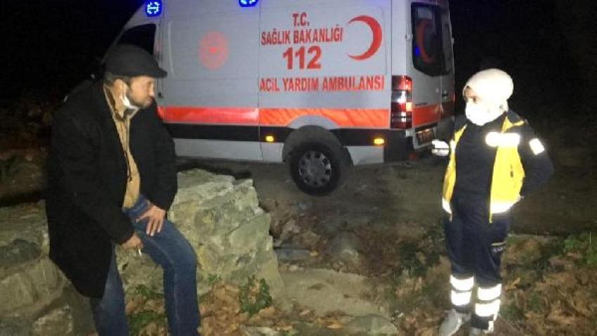 Bursa'da ormanlık alanda mahsur kaldı, kısıtlamayı ihlalden ceza aldı