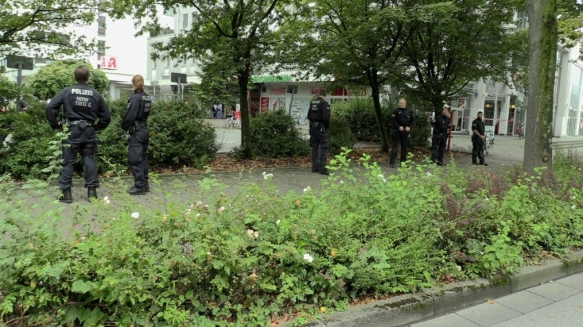 Almanya'da şok bomba paniği