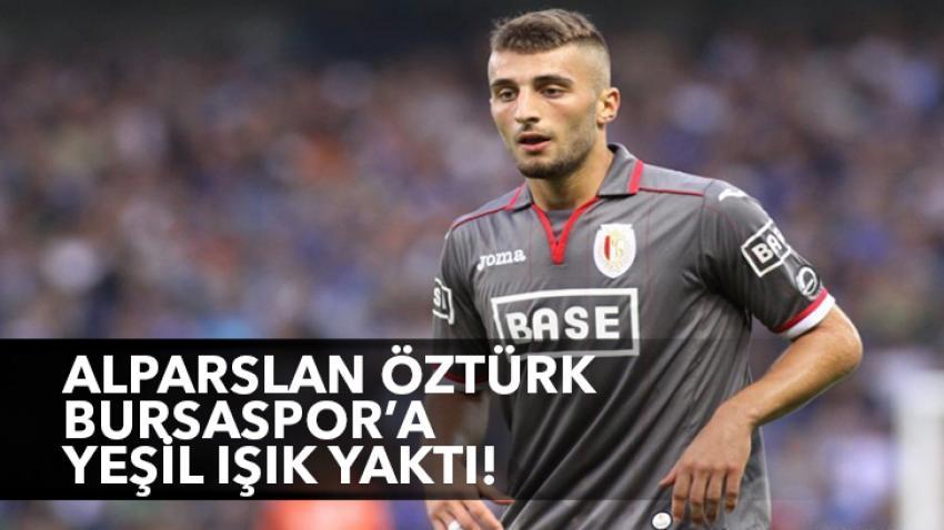 Alpaslan Öztürk'ten Bursaspor'a yeşil ışık!