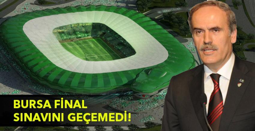 """Altepe """"Bursaspor final sınavını geçemedi"""""""