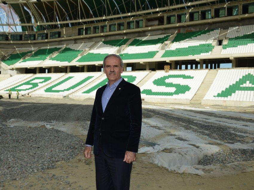 Arena'da Bursaspor'u şampiyonluğa oynatacağız
