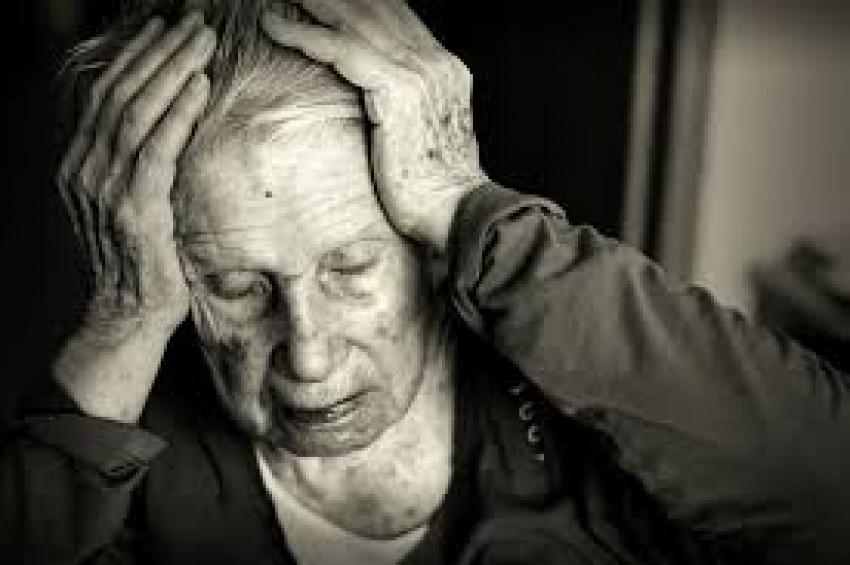Alzheimer hastası kadın şok etti
