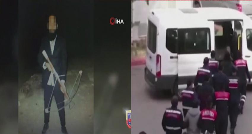 9 DEAŞ'lı terörist yakalandı