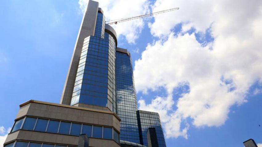 Ankara'nın sembolü vinçli bina icradan satışta!