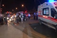 Ankara'da feci kaza: 1 ölü, 4 yaralı