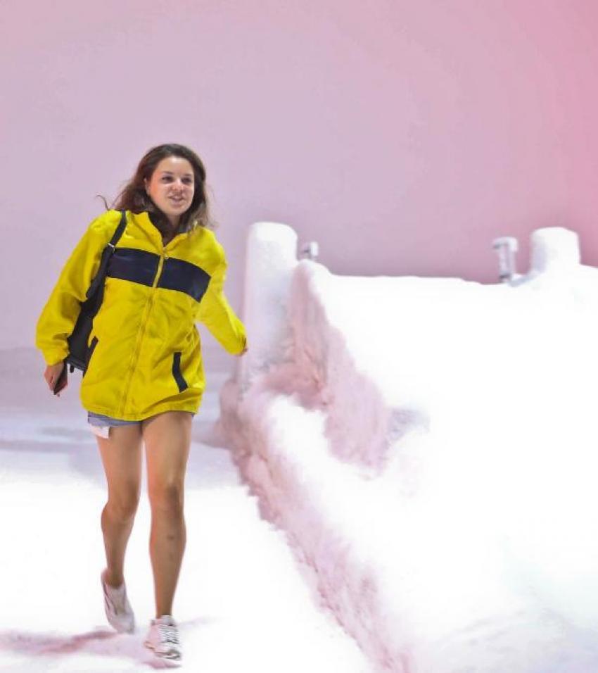 Antalya'da buz heykellere büyük ilgi