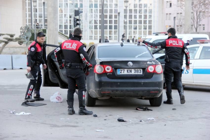Gaziantep'te iki kişi gözaltına alındı