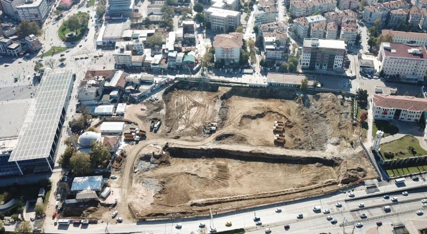 """Bursa'nın yeni merkezi """"Osmangazi Meydanı"""""""