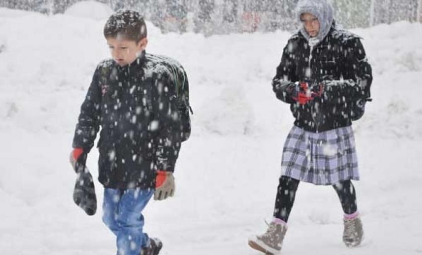 Kar tatili haberi o ilimizden geldi!