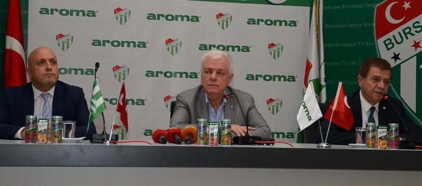 Aroma ile sponsorluk anlaşması yapıldı