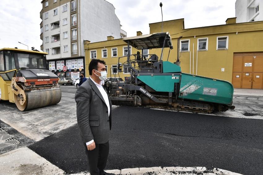 Osmangazi'de asfalt mesaisi