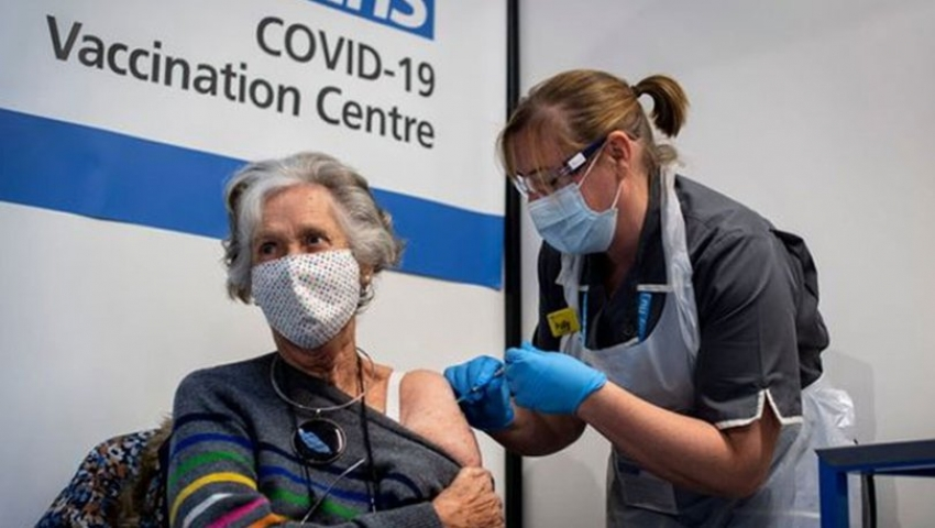 60 yaş üstü aşı randevusu başladı