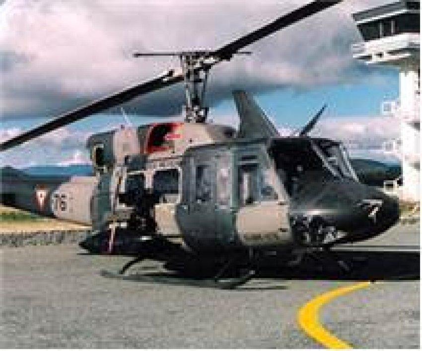 Askeri helikopter düşürüldü: 3 ölü