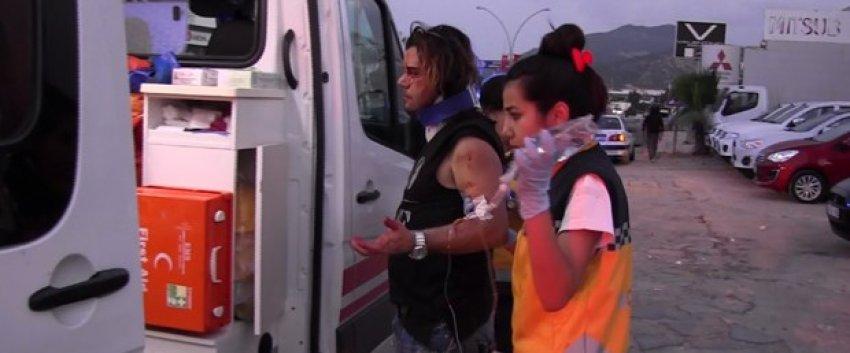 Asrın Tuncer trafik kazasında yaralandı