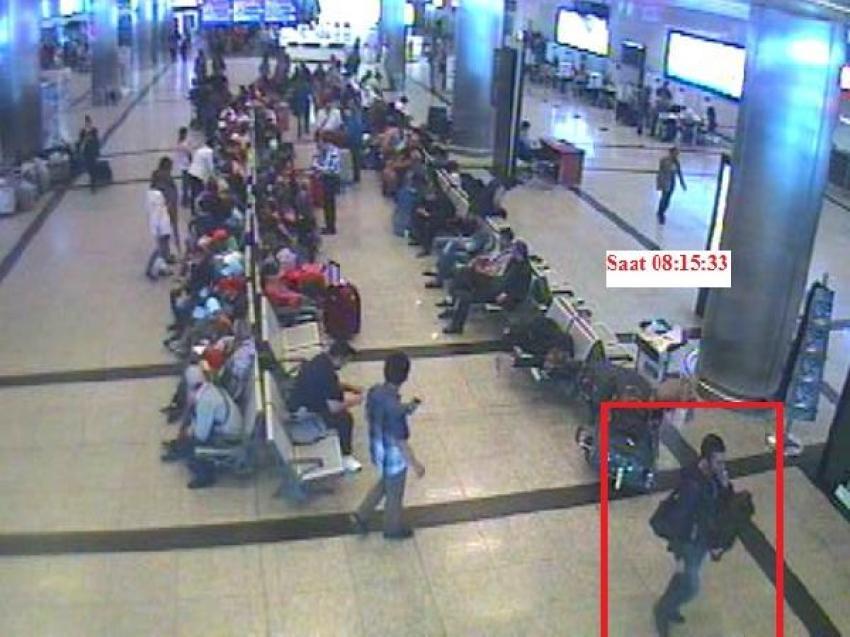 Atatürk Havalimanı'nda hırsızlara kameralı takip!