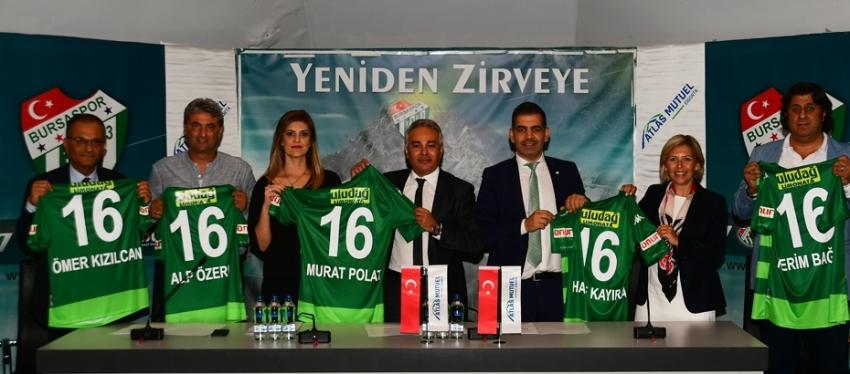 Bursaspor'dan yeni sponsorluğu anlaşması