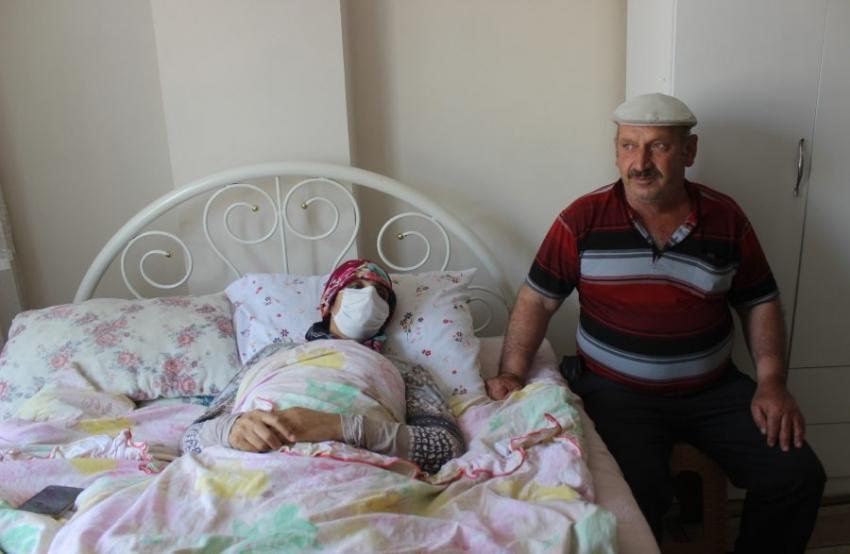 Bursa'da siroz hastası kadının yaşaması için 300 bin liraya ihtiyacı var