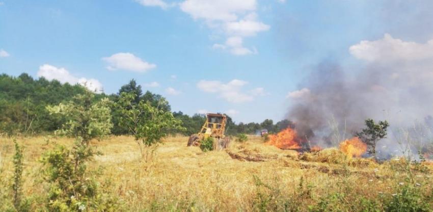 Bursa korkutan anız yangını