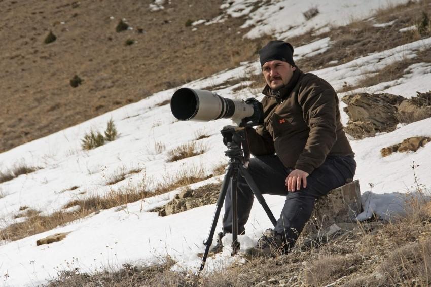 Türkiye'nin doğal hayatını fotoğraflıyor