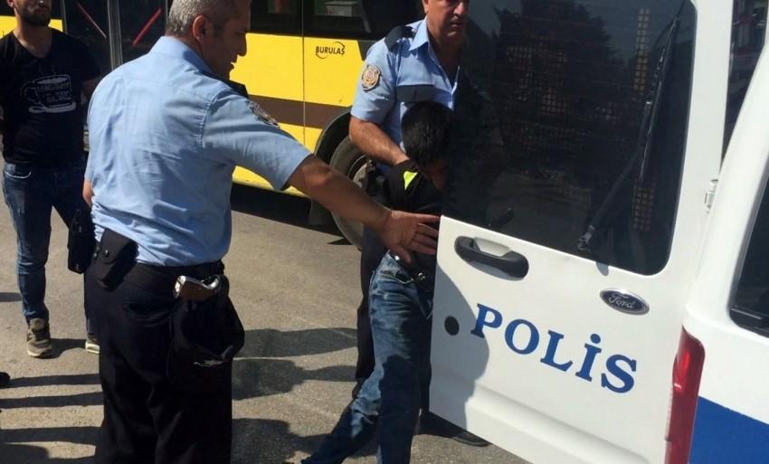 Bursa'da parkta dehşet dakikaları
