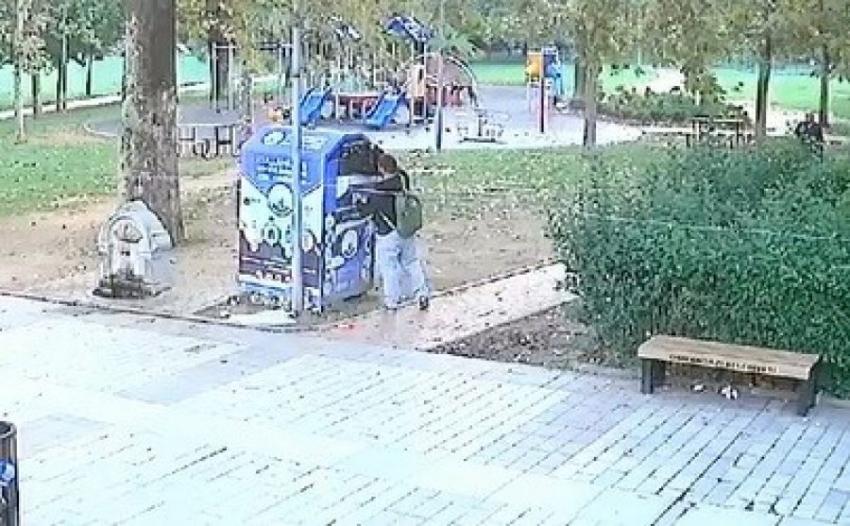 Bursa'da otobüsten laptop çantası çaldı yardım kutusuna bıraktı