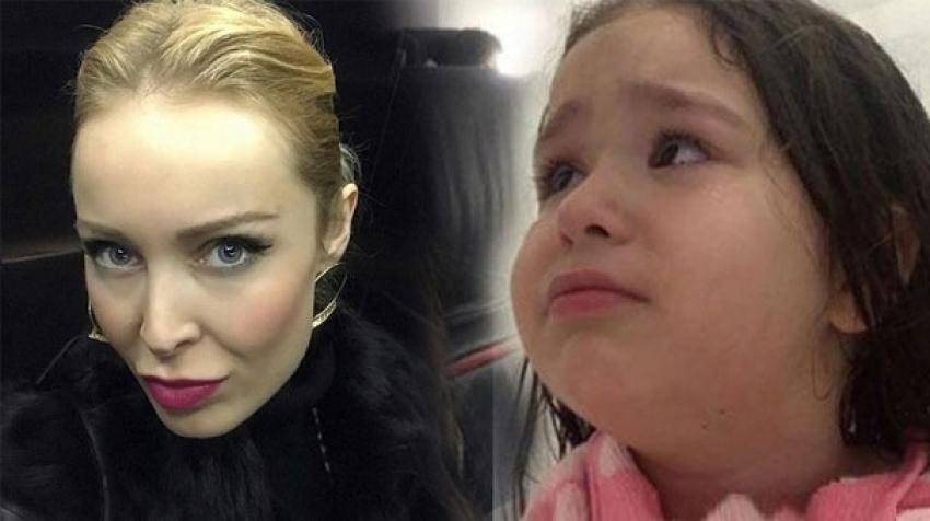 Ayşegül Yıldız kızının videosuna gelen yorumlara sert çıktı