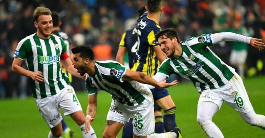 Türk oyuncular attı,Bursasporkazandı